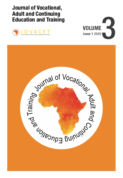 Journal of Vocational, Adult and Continuing Education and Training, Volume 3, Issue 1 2020